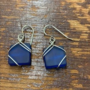 Jewelry - Sea glass earrings